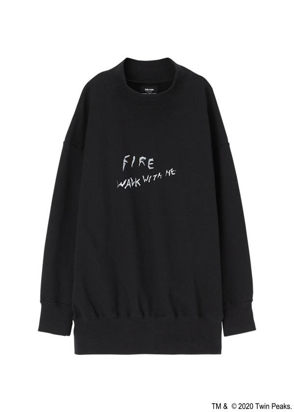 ネ・ネット / TP FIRE WALK WITH ME URAKE / プルオーバー 黒
