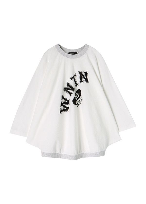 ネ・ネット / wantan T / Tシャツ 白