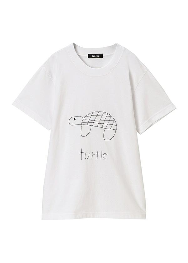 ネ・ネット / marine club T / Tシャツ ライトグリーン