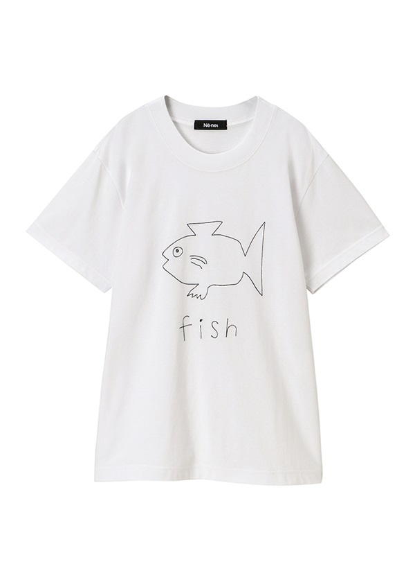 ネ・ネット / marine club T / Tシャツ ネイビー
