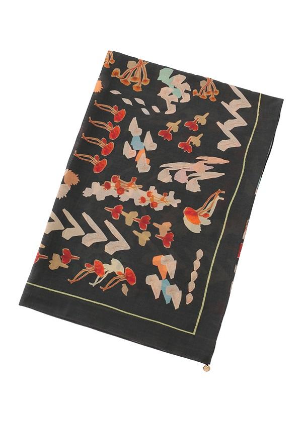 フラワースケッチスカーフ