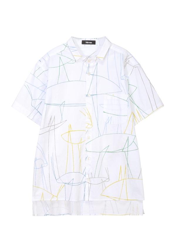 ドローイングシャツ