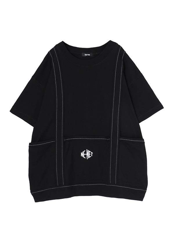 ネ・ネット / TOTE BAGT / Tシャツ 黒