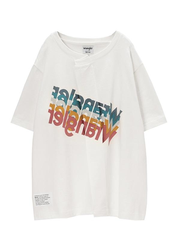 ネ・ネット / Wrangler×ネ・ネット T / Tシャツ 白