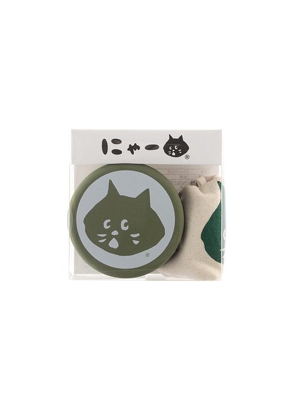 にゃー / にゃーお茶こもの / お茶缶 グリーン
