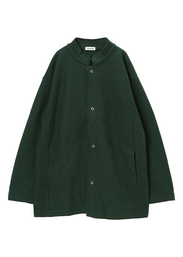 Plantation / ライトミルドウール / 羽織り グリーン