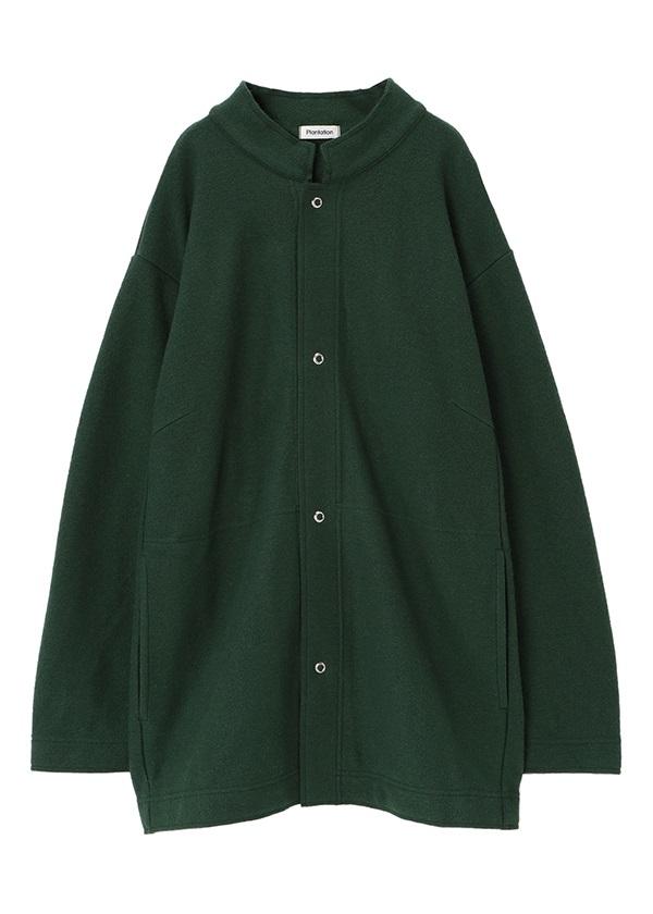 Plantation L-line / ライトミルドウール / 羽織り グリーン