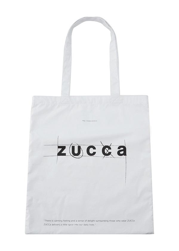 ZUCCa / LOGOトート (MARUPEKE) / バッグ 白