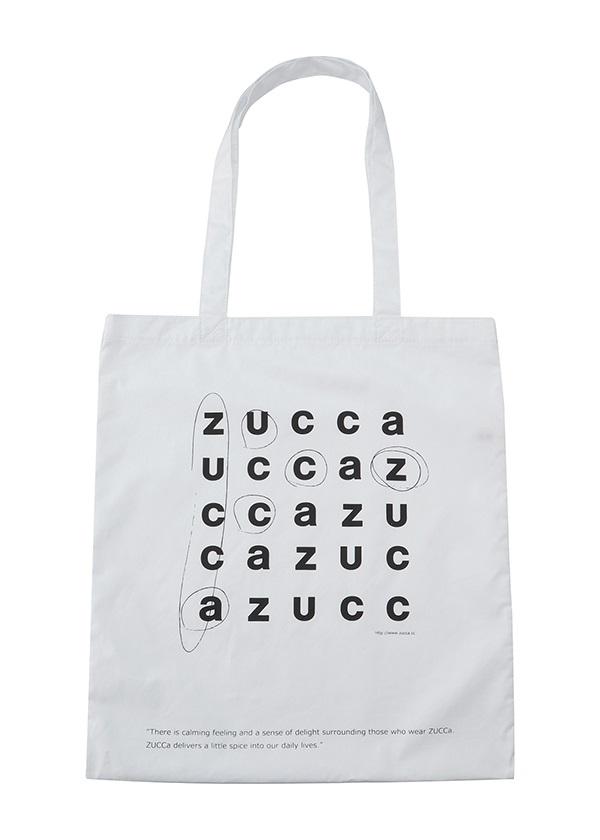 ZUCCa / LOGOトート (JINTORI) / バッグ 白