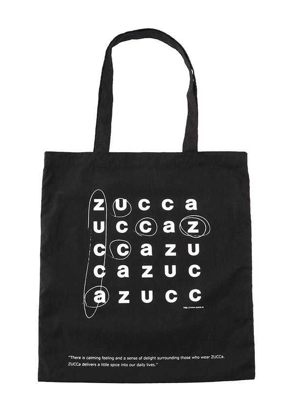ZUCCa / LOGOトート (JINTORI) / バッグ 黒