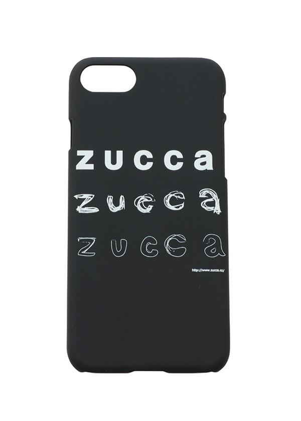 ZUCCa / LOGOスマホケース / スマホケース 黒