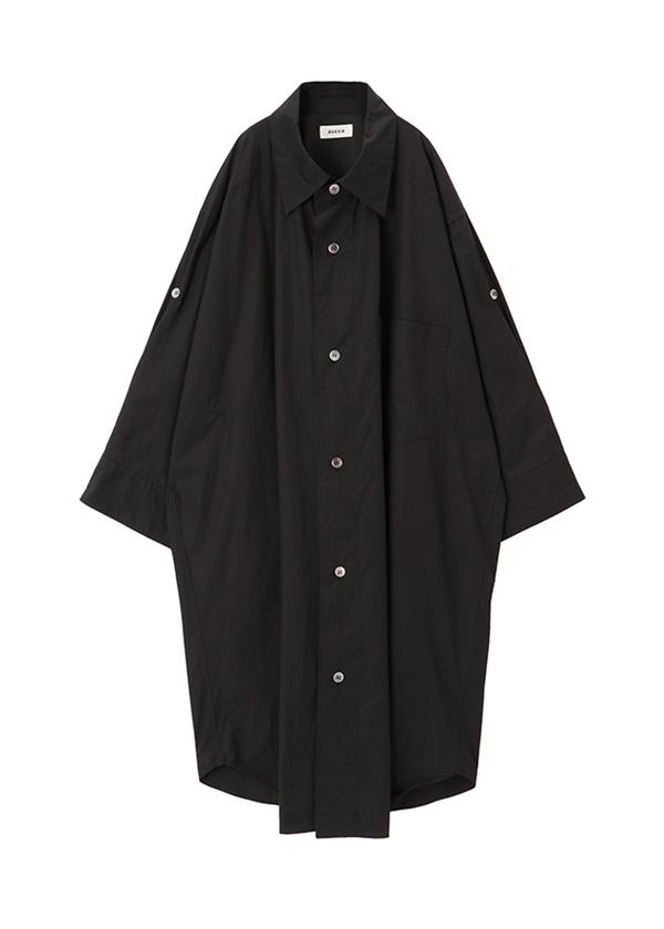 ZUCCa / BIGシャツ / ワンピース 黒