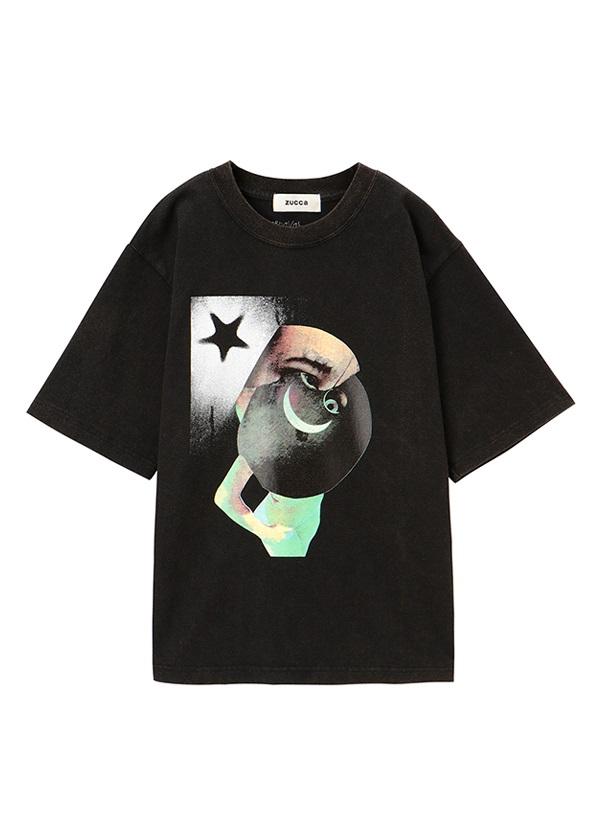 ZUCCa / CARNAVAL JERSEY / Tシャツ 黒