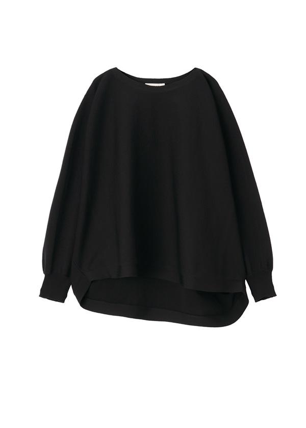 ZUCCa / ストレッチセーター / プルオーバー 黒