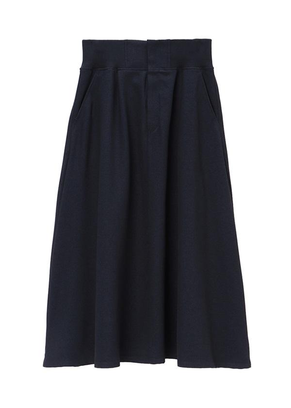 ZUCCa / ポリエステルサージ / スカート ネイビー