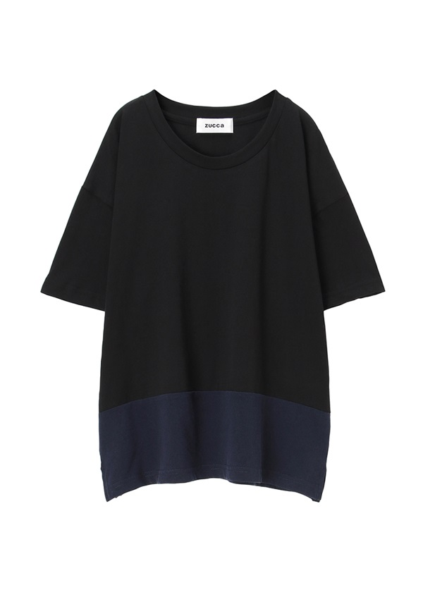 ZUCCa / (R)BLUE 30 / カットソー 黒