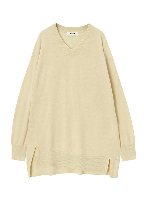 ZUCCa / GF ウールセーター / セーター オフ白