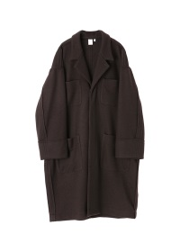 S Melton Knit Coat
