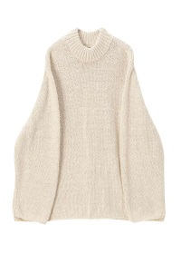 Mockneck Cotton Knit
