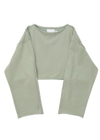 OVER DYE SWEAT SHORT SHIRTS