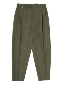 GF 2 TUCK TAPARED CROPPED PANTS