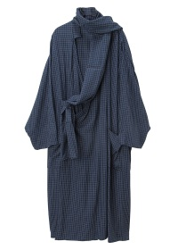 S Rayon Check Long - CT
