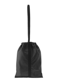(O) Drawstring  Leather Bag