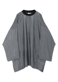 S Rayon Wool Pullover Shirts