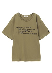 ZUCCa / P North East T / Tシャツ