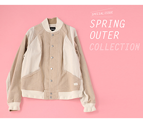 春はすぐそこ!SPRING OUTER COLLECTION